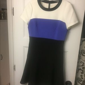 kate spade color block dress